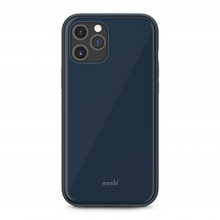 Moshi iGlaze Slim Hardshell Case for iPhone 12 Pro Max (SnapToª) - Blue