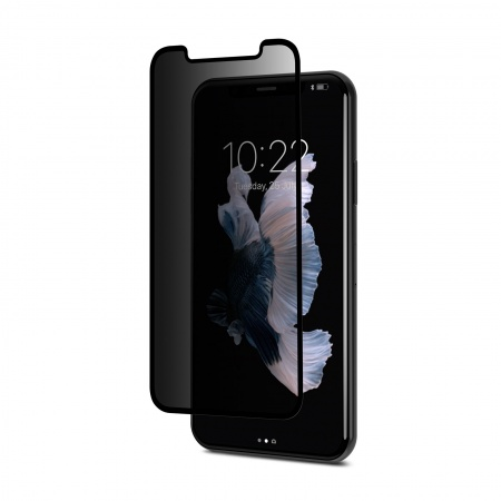 Moshi IonGlass Privacy for iPhone X - Black