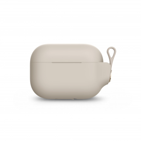 Moshi Pebbo AirPods Pro Case Detachable Wrist Strap & LintGuardª Protection - Savanna Beige