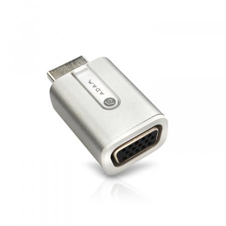 Adam Elements M3 Adapter HDMI to VGA (3y warranty) - Silver