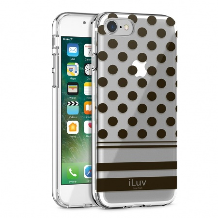 iLuv DotStyle Case for iPhone 7 Plus/8 Plus - Black