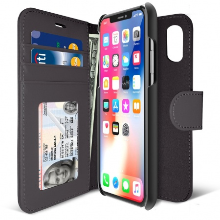 iLuv Diary Case for iPhone X/XS - Black