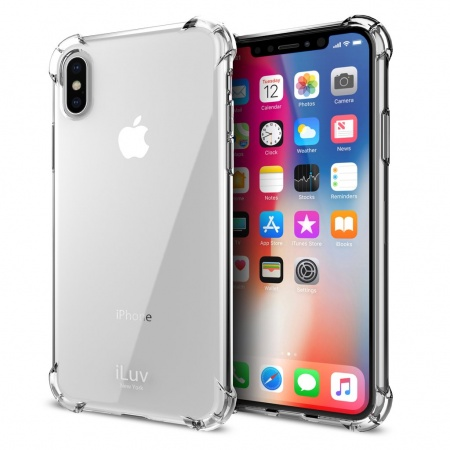 iLuv Gelato Case for iPhone X/XS - Clear