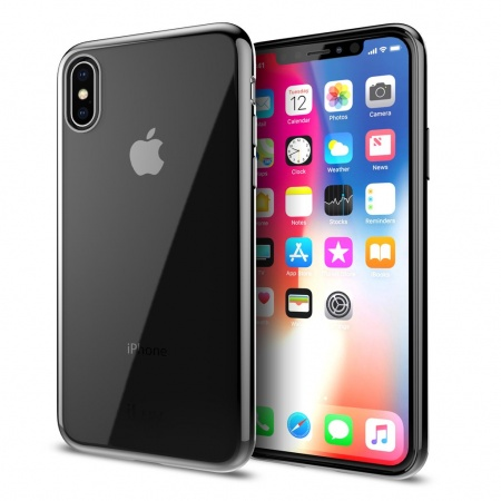 iLuv Metal Care Case for iPhone X/XS - Black