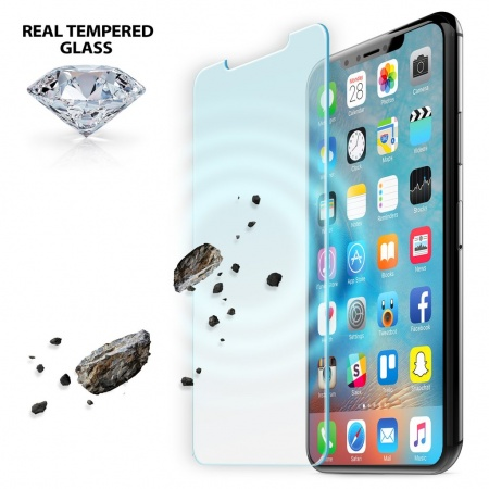 iLuv Tempered Glass Screen Protector for iPhone X/XS