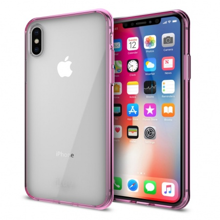 iLuv Vyneer Case for iPhone X/XS - Pink