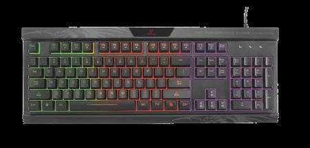 Vertux Gaming Amber Pro Performance Gaming Keyboard - Black (English)