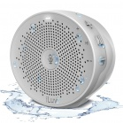 iLuv Aud Click Shower Bluetooth Speaker with Amazon Alexa - White