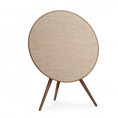 Bang&Olufsen Speaker A9 GVA (4th Gen) Bronze with Walnut Legs and Bronze Fabric
