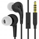 iLuv Bubble Gum 3 In Earphones with built-in mic and remote - Black