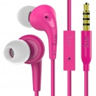 iLuv Bubble Gum 3 In Earphones with built-in mic and remote - Pink