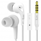 iLuv Bubble Gum 3 In Earphones with built-in mic and remote - White