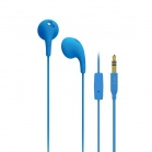 iLuv Bubble Gum Talk Earphones with built-in mic and remote - Blue