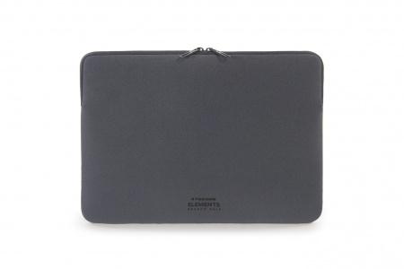 Tucano Elements 16inch Stretchy neoprene case MacBook Pro 16/15inch & Laptop 15.6inch Anti-Slip System band - Dark gray