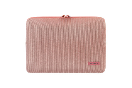 Tucano Velluto 13inch Case Stretchy neoprene & corduroy cover MacBook Pro/Air 13inch & Laptop 12inch - Pink