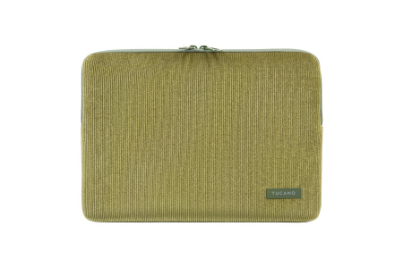 Tucano Velluto 13inch Case Stretchy neoprene & corduroy cover MacBook Pro/Air 13inch & Laptop 12inch - Green