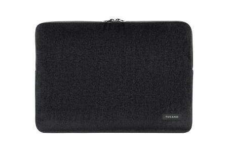 Tucano Velluto 16inch Case Stretchy neoprene & corduroy cover MacBook Pro 16inch - Black