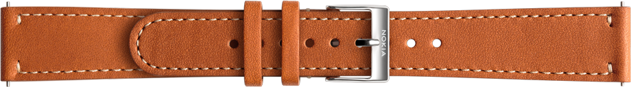 Nokia Accessory Leather Band (18mm) for Steel and Steel HR (36mm) - Brown