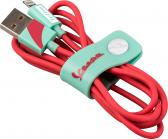 Tribe Vespa Lightning Cable (120cm) - Acquamarine
