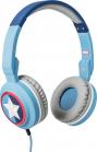 Tribe Marvel Captain America Headphones - Blue
