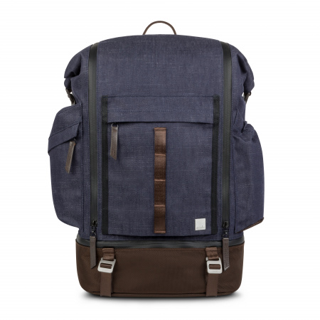 Moshi Captus Rolltop Backpack 45L - Denim Blue