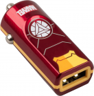 Tribe Marvel Iron Man Car Charger - Red