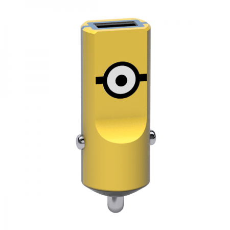 Tribe Minions Carl Car Charger - Yellow