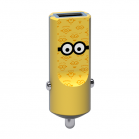 Tribe Minions Tom Car Charger - Yellow