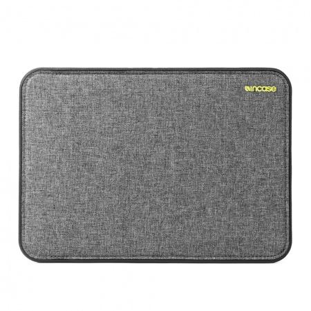 Incase ICON Sleeve w/ Tensaerlite for MacBook 12inch - Heather Gray / Black