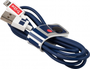 Tribe Star Wars R2D2 Lightning Cable (120cm) - Blue
