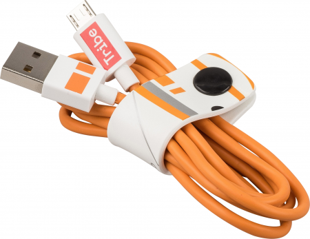 Tribe Star Wars BB-8 Micro USB Cable (120cm) - White