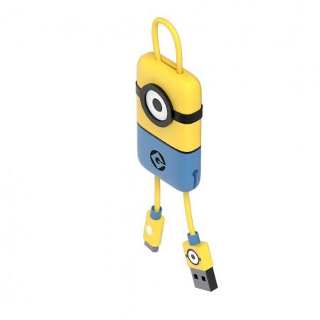 Tribe Minions Carl USB Keyline (22cm) - Yellow