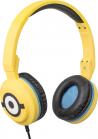 Tribe Minions Carl Pop Headphones - Yellow
