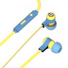 Tribe Minions Carl Swing Earphones - Yellow