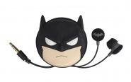 Tribe Earphones with pouch Batman - Black