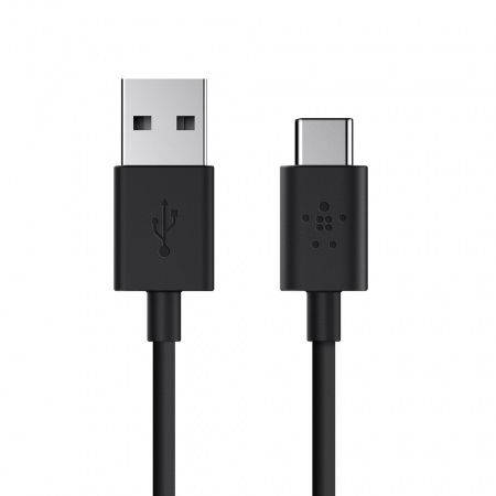 Belkin MIXIT_ª 2.0 USB-A to USB-C Charging Cable 1.8m - Black