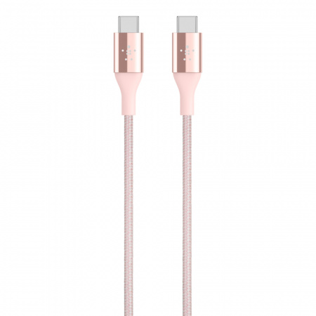 Belkin DuraTekª Premium Kevlar USB-C Cable Rose Gold