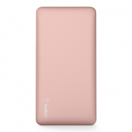 Belkin Pocket Power Bank 5K MAh USB-A to MicroUSB Cable included - Rose Gold