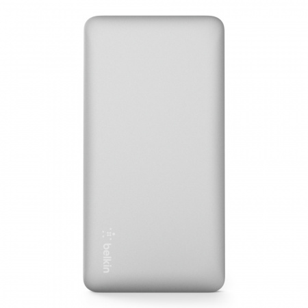 Belkin Pocket Power Bank 5K MAh USB-A to MicroUSB Cable included - Silver