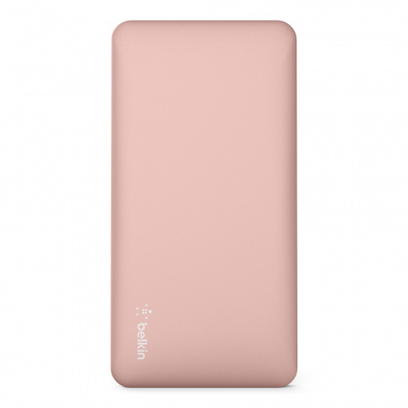 Belkin Pocket Power Bank 10K MAh USB-A to MicroUSB Cable included - Rose Gold