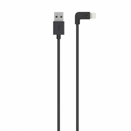 Belkin MIXIT_ª UP Lightning (90degree) to USB Cable 1.2m - Black