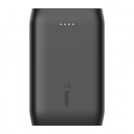 Belkin Power Bank BOOST_CHARGEª 10K MAh (2xUSB-A,1xUSB-C) USB-A to USB-C Cable included - Black