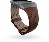 Fitbit Ionic Accessory Band Perforated Leather Cognac - Large