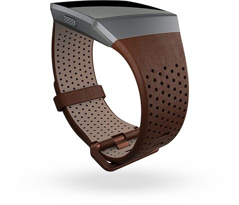 Fitbit Ionic Accessory Band Perforated Leather Cognac - Small