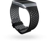 Fitbit Ionic Accessory Sport Band Black Gray - Small