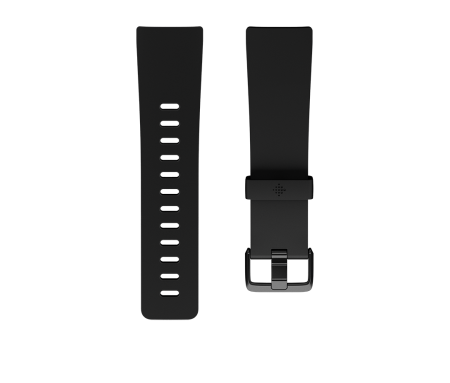 Fitbit Versa Classic Accessory Band Black - Small