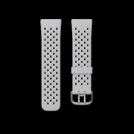 Fitbit (Accessory) Versa 3 Sense Sport Band Grey Mint Large