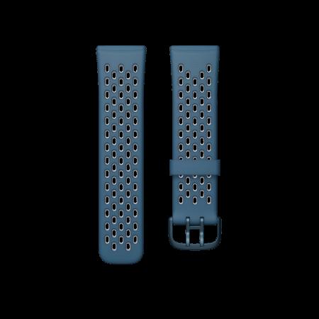 Fitbit (Accessory) Versa 3 Sense Sport Band Sapphir FGrey Large