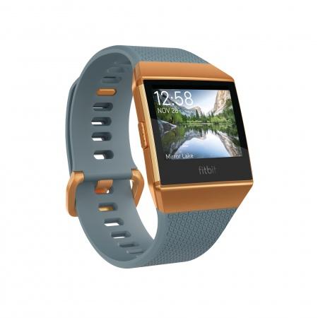 Fitbit Ionic - Slate Blue/Burnt Orange