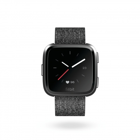 Fitbit Versa (NFC) - Special Edition w FitbitPay - Charcoal Woven
